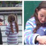10-årig pige er blevet væk fra sin mor – hvad en fremmed gør, har rystet flere milioner mennesker.