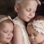 I 2014 blev et billede af 3 kræftramte piger taget – se deres forvandling idag!