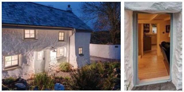 300 år gammelt hus chokere hele verden - se det indenfor og det er kærlighed ved første blik!