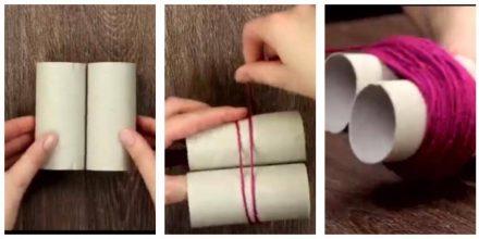 Genialt tip til hjemmet – sådan laver du nemt det lækreste gulvtæppe.