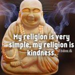 my religion is..