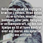 religion er en af de vigtigste..