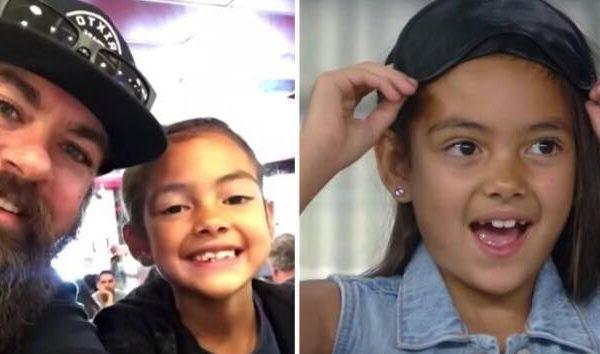Datteren ønskede inderligt, at hendes far skulle klippe sit skæg helt af - men da forvandlingen sker kan hun ikke kende ham