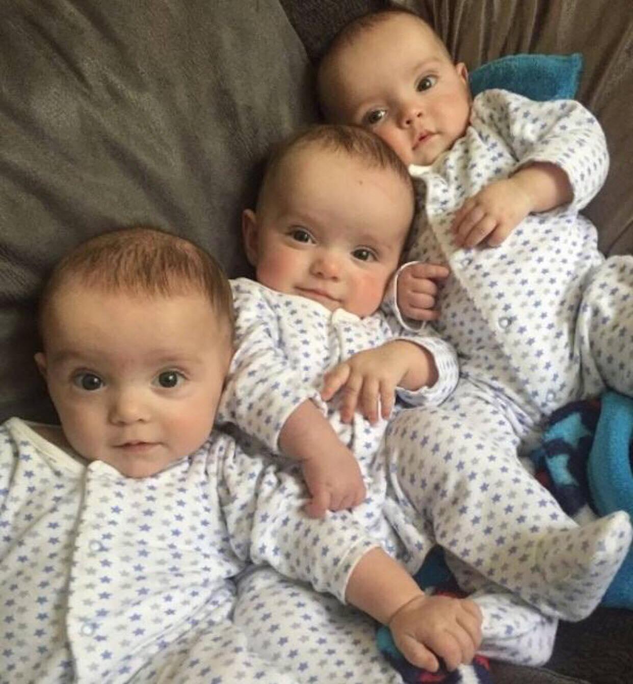 Imagini pentru tre gemelli identici