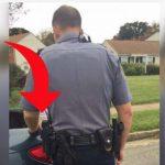 Kvinde bliver stoppet af politiet – Hvad betjenten gør, har nu overrasket hele verden