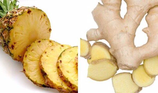 Opskrift på ananas- og ingefær smoothie - derfor er det den perfekte blanding