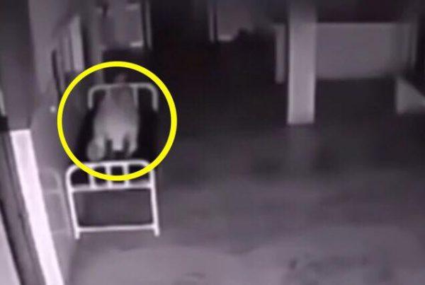 Denne kvinde var gået bort på hospitalsgangen - hvad der sker ved 0:10 er helt utroligt!