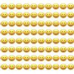 1 smiley ser anderledes ud – kan du finde den på under 10 sekunder?