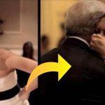 Faren dør lige før datters bryllup – under den store fest bliver hun bedt om at vende sig om og får sit livs overraskelse