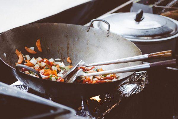 Himmelsk opskrift til aftensmaden - hjemmelavet kinesisk ris ret