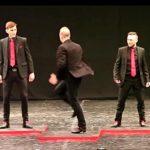 5 mænd stiller op i talentkonkurrence – et kort øjeblik senere er alle i chok over den vilde præstation!