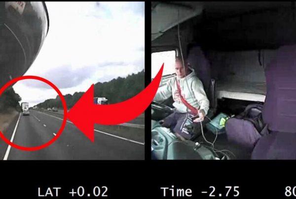 Denne hjerteskærende video har rystet alle i hele verden - derfor skal man ALDRIG kigge på sin mobil imens man kører bil!