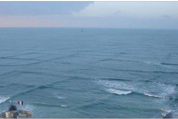 Ser du ''firkantede'' bølger på havet, skal du straks skynde dig at komme væk og advarer andre