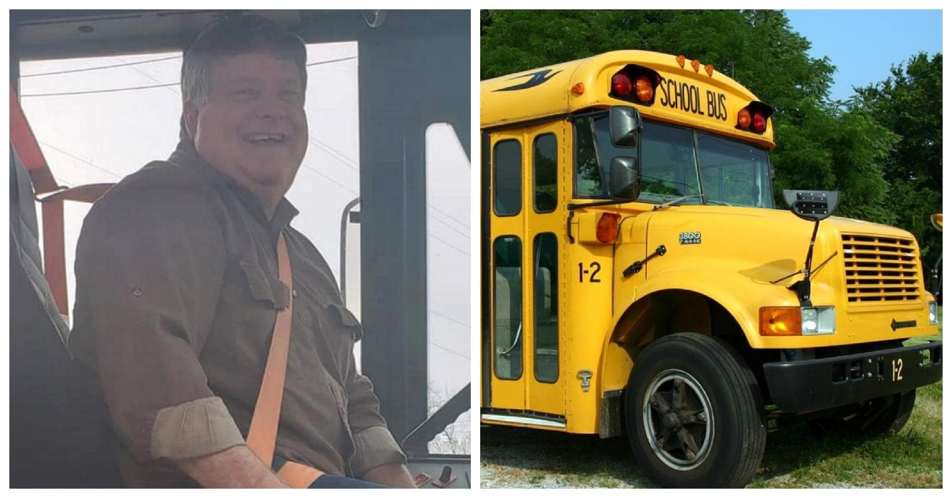 Skolebus chauffør