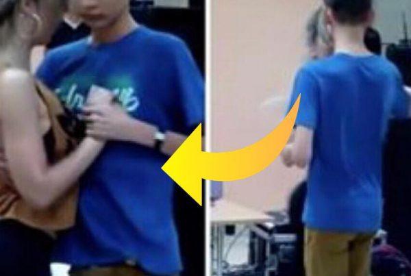 Professionel danser byder 16-årig dreng op til dans - alle grine indtil han begyndte at bevæge sig