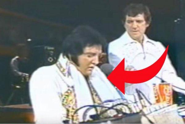 Sjælden optagelse offentliggjort på nettet: Elvis Presleys sidste liveoptræden