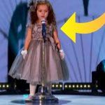 4-årig pige synger verdenskendt hit i talentprogram – publikum tror ikke deres egne øjne, da de kigger op på scenen