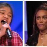 9-årig pige vil være den næste Whitney Houston – Hun åbner munden og dommerne er ikke i tvivl!