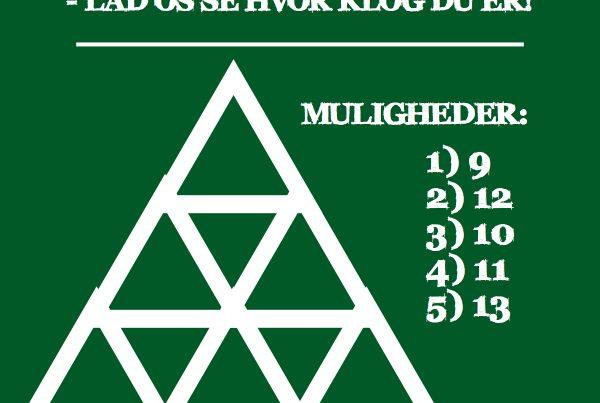 OPGAVE: Hvor mange trekanter er der?