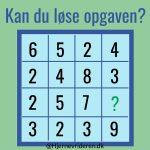 UDFORDRING: Kan du løse denne opgave?