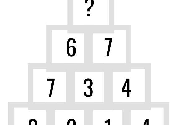 OPGAVE: Hvilket tal skal erstatte ''?''