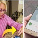Frustreret mor bander over at hendes børn nægter at tage hendes opkald: Nu hyldes hun over hele verden for hendes smarte løsning!
