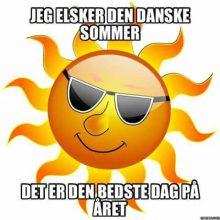 Jeg elsker den Danske sommer..
