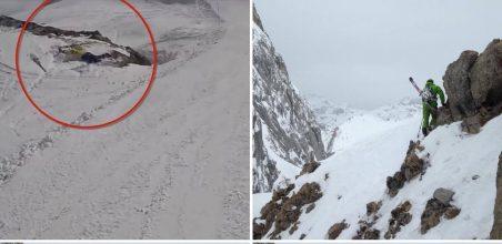 Kammeraten forsvandt pludselig i alperne: Finder ham via hans GoPro Kamera