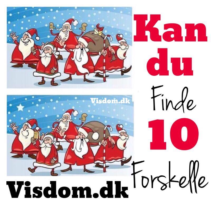 finde - Danmarks sjoveste jule-side Visdom.dk