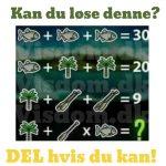 Kan du løse denne?