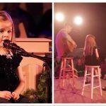 """Modig 4-årig tager chancen med """"O Hellige Nat"""": Får publikum til at flyve op af stolene!"""