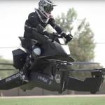 Se videoen: Flyver 70 km/t: Her er politiets nye'flyvende motorcykler'i Dubai