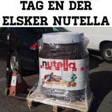 Tag en der elsker nutella..
