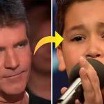 Tosset Simon håner den 12-årige dreng – få sekunder efter lukker den nervøse dreng munden på ALLE i salen!