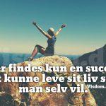 Der findes kun en succes..