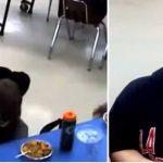 Elev bliver hyldet som helt: Efter at reddet hans klassekammerats liv i kantinen