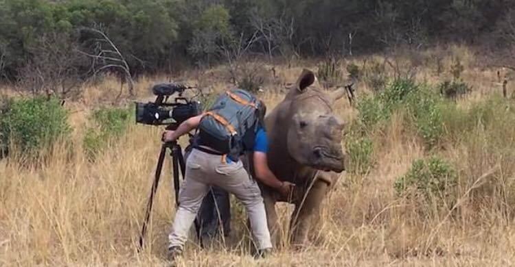 Fanget på kamera