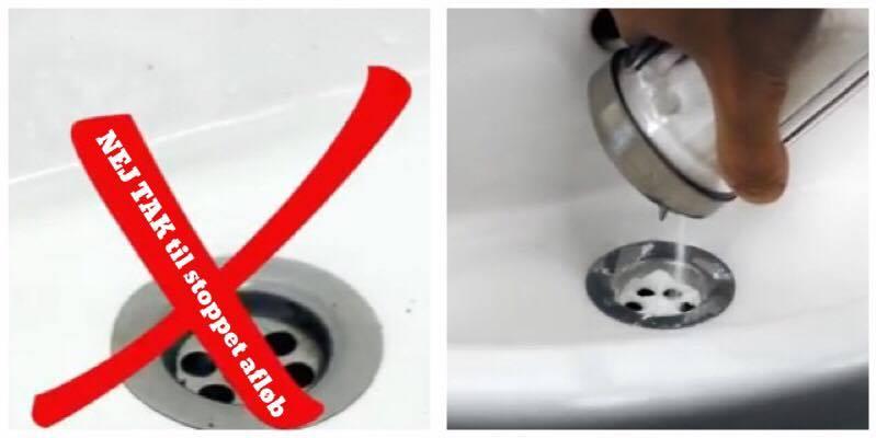 Genialt trick til rensning af afloeb