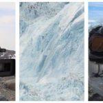 Gletsjer revner, det hører fotografen – Han bevidner det mest dramatiske, han nogensinde har fanget på kamera!