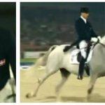 Han ridder ind i arenaen på sin hest – hvad der sker når musikken starter har imponeret milioner!
