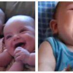 Hvad er mere livsbekræftende end en babys grin? – se den sjove video her!