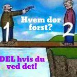 hvem dør først?