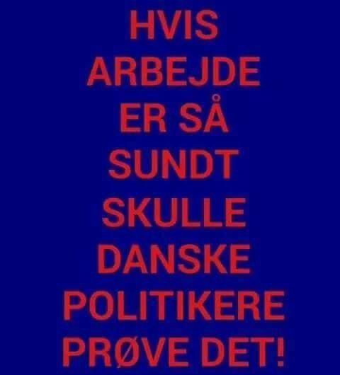politikere - Danmarks bedste humor-side Visdom.dk deler hverdag nye sjove jokes