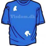 Hvor mange huller er der i denne T-shirt? Del og like hvis du ved det?