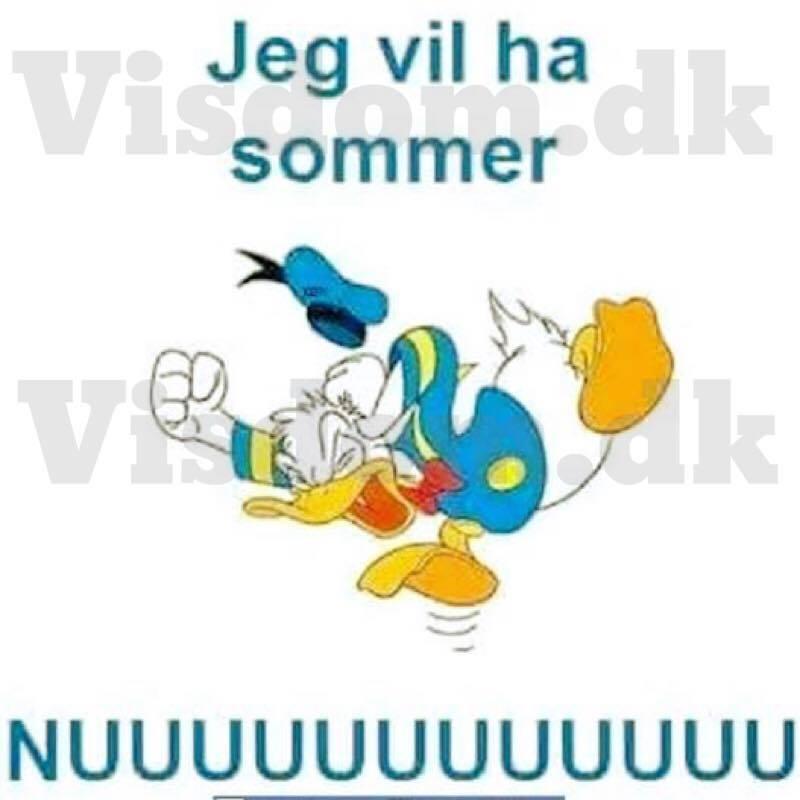 jeg vil ha sommer.. NUUUUUUUUU
