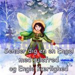 Sender dig en engel med..