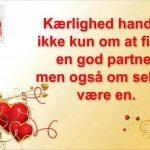 kærlighed handler ikke kun om at finde en god partner..