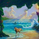 Kan du finde alle 7 heste på maleriet? 90 procent kan ikke finde dem alle.