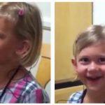 Lille pige har en medfødt høreskade – se øjeblikket, hvor hun hører sin egen stemme for første gang.