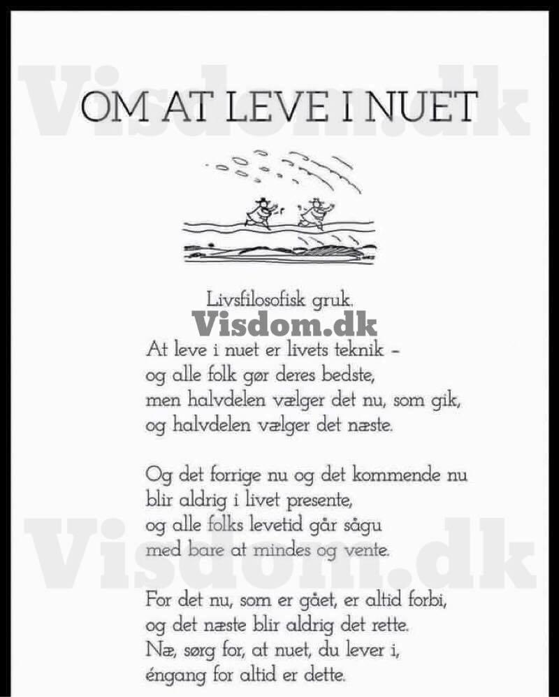 lev livet citat livets     Citat om nuet, at leve i nuet og elske i nuet. lev livet citat